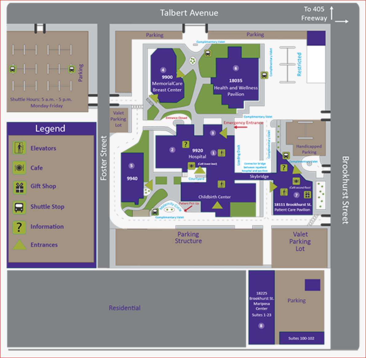 Hospital Map
